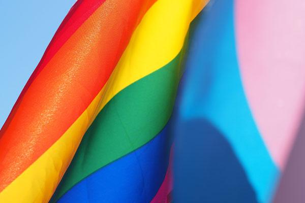 Trans Laser Hair Removal Pride Flag